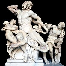 Laocoon_and_His_Sons_black