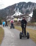 Hinten die Skischanze