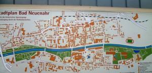 Bad NeuenahrStadtplan